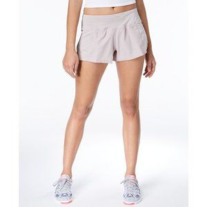 NWT Nike Beige Gray Dry Fit Stretch Running Shorts
